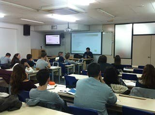 PRESENTATION OF CETREX MARKETING TO THE MEDITERRANI's PUPILS OF DEGREE IN  MARKETING