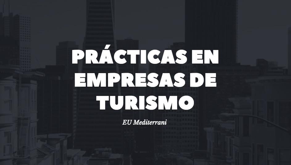 practicas en empresas de turismo