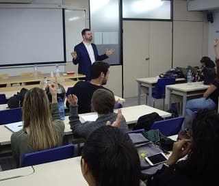 PUBLIC SUCCESS IN THE II SCHOOL-COMPANY PROFESSIONAL DAY OF MEDITERRANI