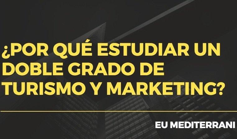 doble grado de turismo y marketing