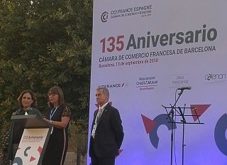 EU MEDITERRANI ON THE 135th ANNIVERSARY OF THE FRENCH CHAMBER OF COMMERCE AND INDUSTRY