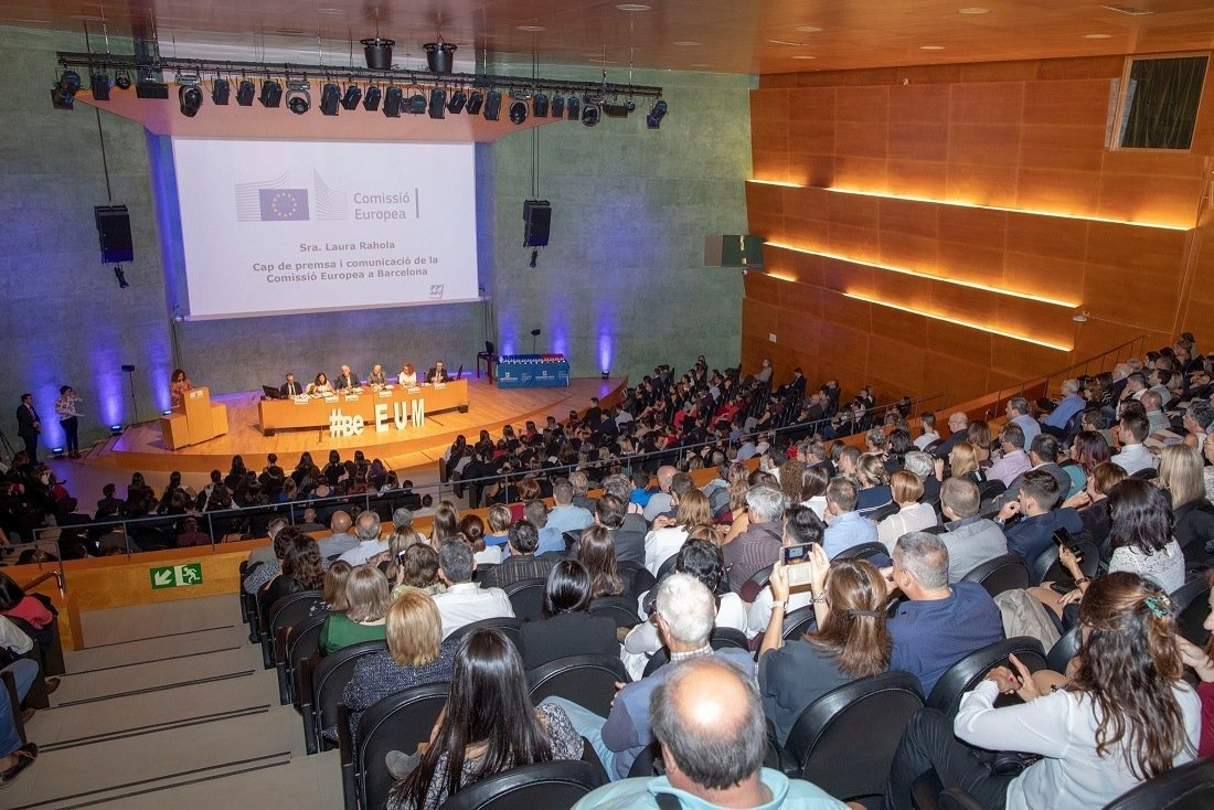 EU MEDITERRANI CELEBRATES THE GRADUATION ACT AND THE INAUGURATION OF THE 2018  COURSE
