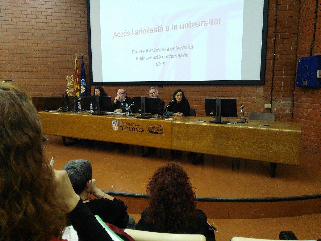 EU Mediterrani asiste a la conferencia sobre el acceso y admisión en la universidad 2019