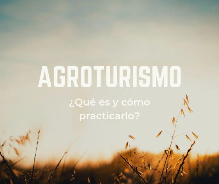 Agroturismo: ¿Qué es y cómo practicarlo?