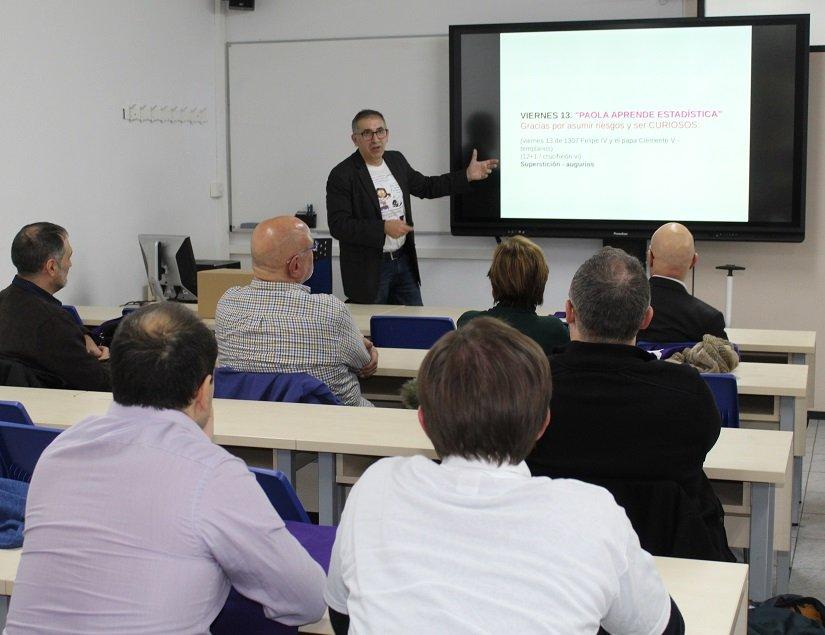 EL DR. GASPAR BERBEL PRESENTA SU INNOVADOR MANUAL DE ESTADÍSTICA EN EU MEDITERRANI