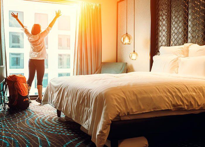 Los tipos de habitaciones de un hotel