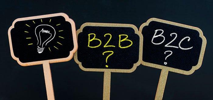 Qué es B2B y B2C en marketing: diferencias y similitudes
