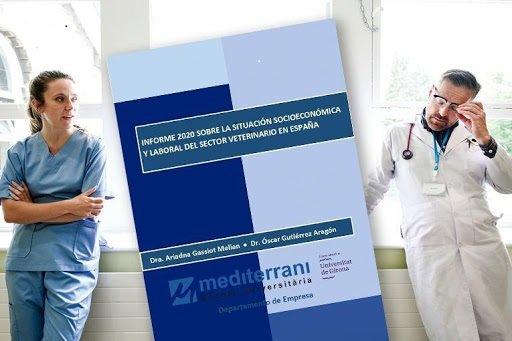 PROFESORES DE EU MEDITERRANI PRESENTAN EL INFORME 2020 SOBRE LA SITUACIÓN SOCIOECONÓMICA Y LABORAL DEL SECTOR VETERINARIO EN ESPAÑA