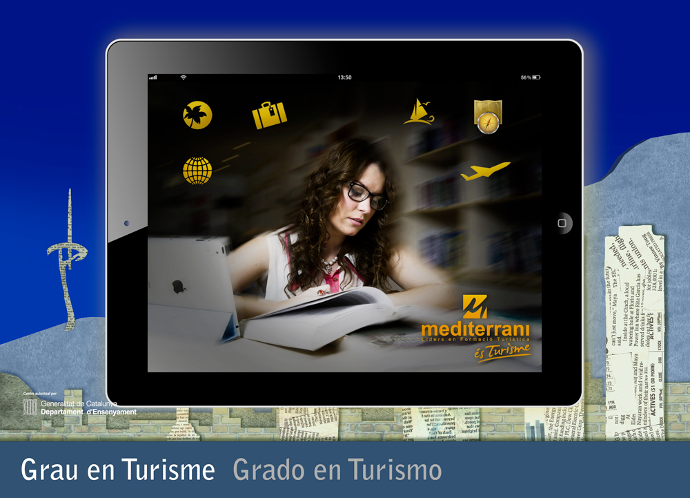 estudiar turismo - new ipad